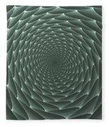 Velveteen Vortex Gray Fleece Blanket