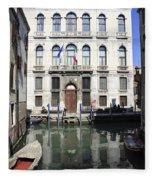 Venetian Canal Fleece Blanket