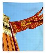 Venetian Freedom Fleece Blanket