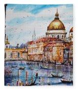 Venetian Paradise Fleece Blanket