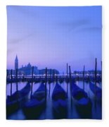 Venetian Sunrise Fleece Blanket