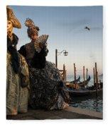 Venice Carnival '15 IIi Fleece Blanket