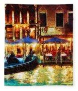 Venice Glow Fleece Blanket