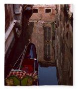 Venice Gondola Fleece Blanket