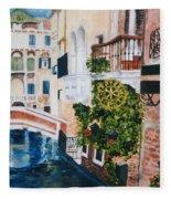 Venice- Italy Fleece Blanket