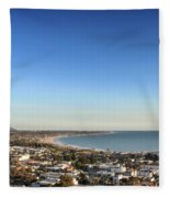 Ventura Skyline Fleece Blanket