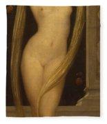 Venus And Cupid Fleece Blanket
