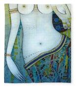 Venus With Doves Fleece Blanket