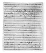 Verdi Rigoletto, 1850 Fleece Blanket