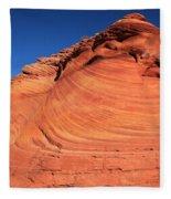 Vermilion Mounds Fleece Blanket