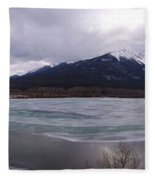 Vermillion Lakes, Banff National Park - Panorama Fleece Blanket
