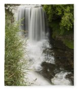 Vermillion River Falls 1 Fleece Blanket