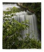 Vermillion River Falls 2 A Fleece Blanket