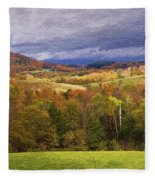 Vermont Colors Fleece Blanket