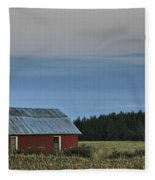 Vermont Full Moon Fleece Blanket