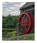 Vermont Grist Mill Fleece Blanket