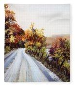 Vermont Road Fleece Blanket