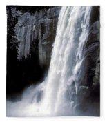 Vernal Falls Profile Fleece Blanket