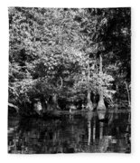 Vernon Lake Four Fleece Blanket