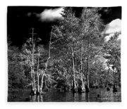 Vernon Lake Trip Fleece Blanket