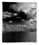 Vernon Lake Two Fleece Blanket