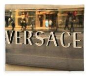 Versace Fleece Blanket