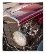 Very Cool Vintage 1930 Chrysler Hot Rod  Fleece Blanket