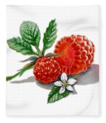 Artz Vitamins A Very Happy Raspberry Fleece Blanket