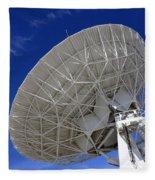 Very Large Array Of Radio Telescopes 4 Fleece Blanket