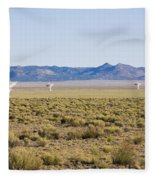 Very Large Array Fleece Blanket