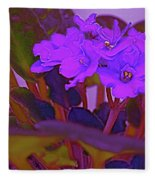 Very Violets  Fleece Blanket