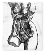 Vesalius: Urogenital Fleece Blanket