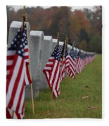 Veterans Day Fleece Blanket