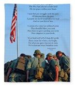Veterans Remember Fleece Blanket