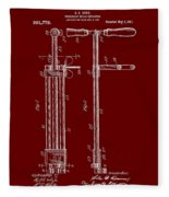 Veterinary Molar Extraction Patent 1911 Fleece Blanket
