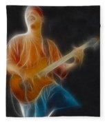 Vh-eddie-balance-ga6-fractal Fleece Blanket