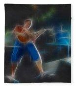 Vh-eddie-balance-gd2-fractal Fleece Blanket