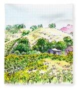 Viano Winery Martinez California Fleece Blanket
