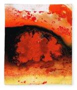 Vibrant Abstract Art - Leap Of Faith By Sharon Cummings Fleece Blanket