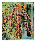 Vibrant Berries Fleece Blanket