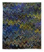 Vibrant Colors Fleece Blanket