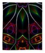 Vibrational Tendencies Fleece Blanket
