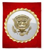 Vice Presidential Service Badge Fleece Blanket