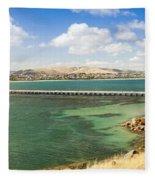 Victor Harbour Panorama Fleece Blanket