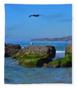 Victoria Beach Fleece Blanket