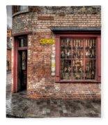 Victorian Corner Shop Fleece Blanket