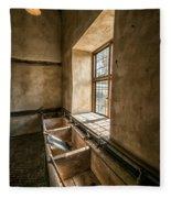 Victorian Laundry Room Fleece Blanket