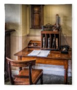 Victorian Medical Office Fleece Blanket