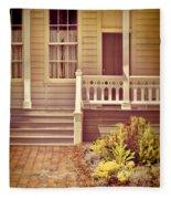 Victorian Porch Fleece Blanket