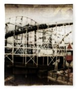 Victorian Roller Coaster Fleece Blanket
